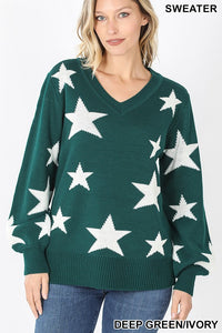 Star Light Shine Bright Sweater