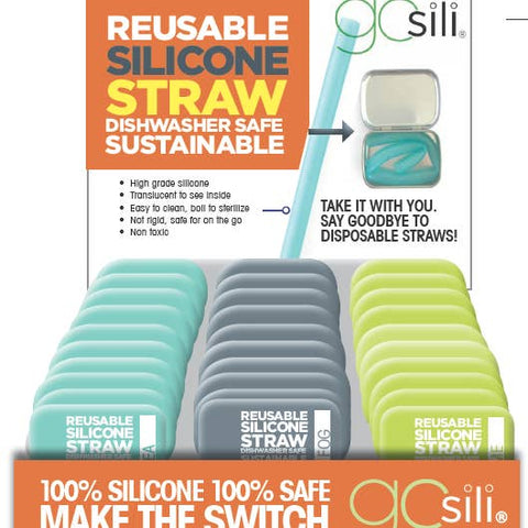 Reusable Silicone Straw: X-WIDE