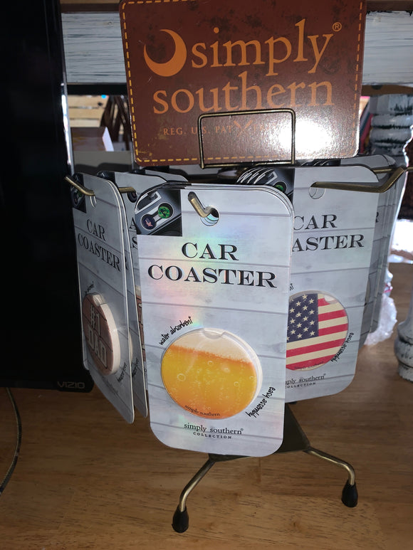 Simply Southern Mens Car Coasters