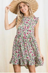 All The Flowers Love Me Dress