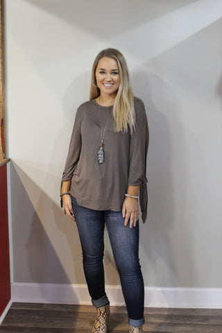Simply Southern  Knotsleeve Top