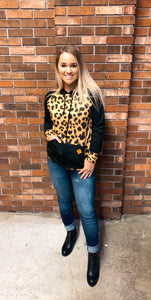 Simply Southern Leopard Hoodie