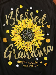 Simply Southern Blessed Sunflower