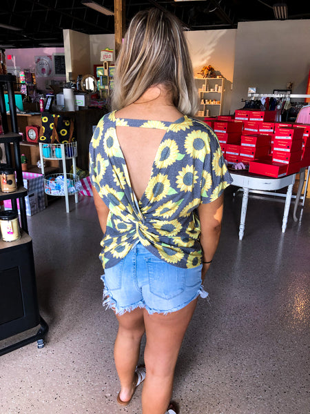 Simply Southern Knot Back Top