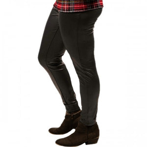 Simply Southern Black Leather Pants