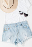 Simple & Sweet Plus Shorts