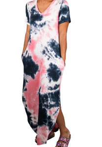 Simply Southern Tie Dye Maxi Dress