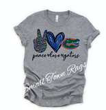 Peace. Love. Gators