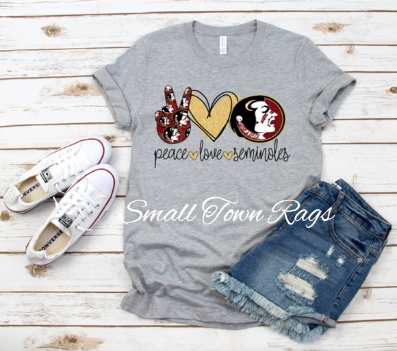 Peace. Love. Seminoles [ IN STOCK ]