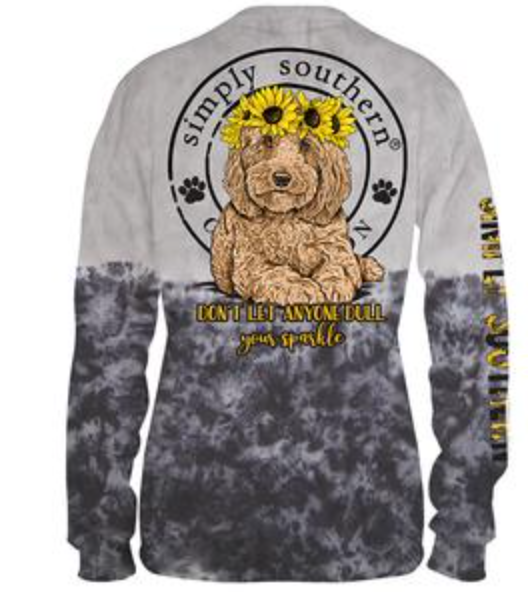 Simply Southern Tie Dye Goldendoodle
