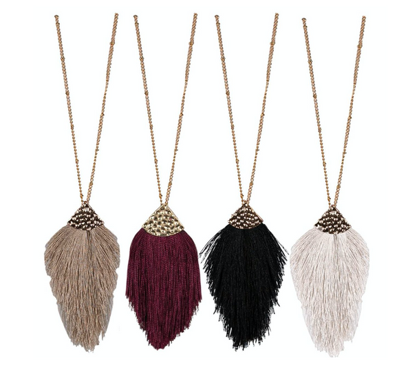Simply Southern Necklace Fringe