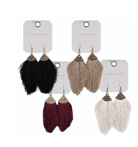 Simply Southern Fringe Earrings