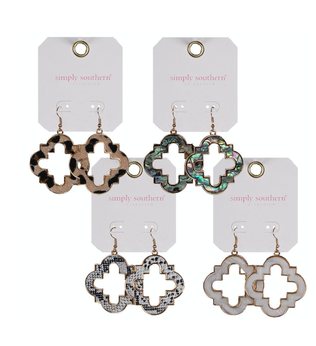 Simply Southern Clover Earrings