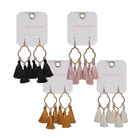 Simply Southern 3 Tassel Earrings