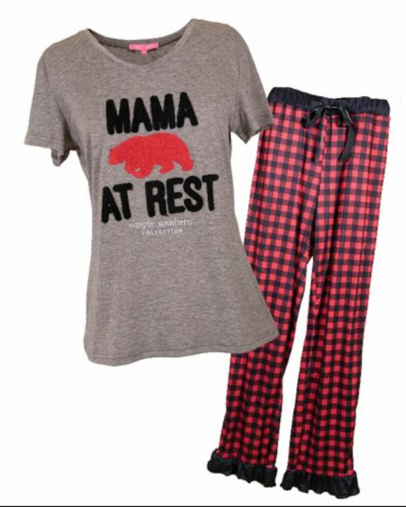 Simply Southern Adult Pj Set