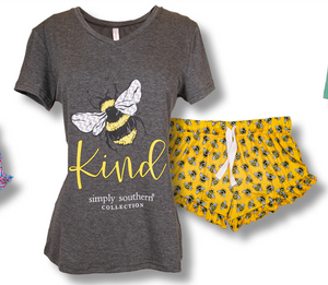 Simply Southern PJ Set: Bee