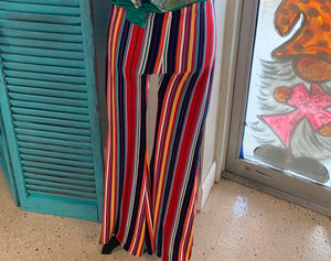Stripe Bell Bottoms