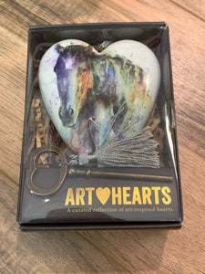 Water Color Horse Heart