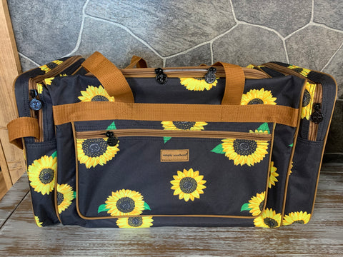 Simply Southern Sunflower Duffel Bag