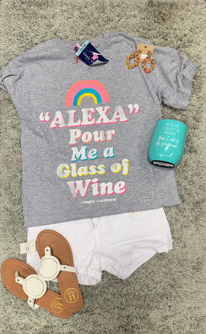 Alexa Pour Me a Glass of Wine