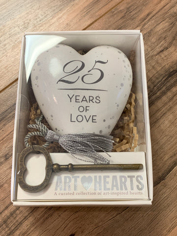 25 Years of Love Heart