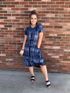 Simply Southern Tye Dye Knot Dress