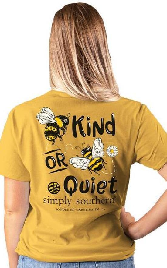 Simply Southern Bee Kind Short Sleeve