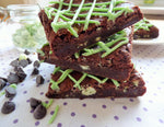 Mint Chocolate Brownies (Box of 4 or 9) - Clare's Squares - order brownies online with free delivery to your door