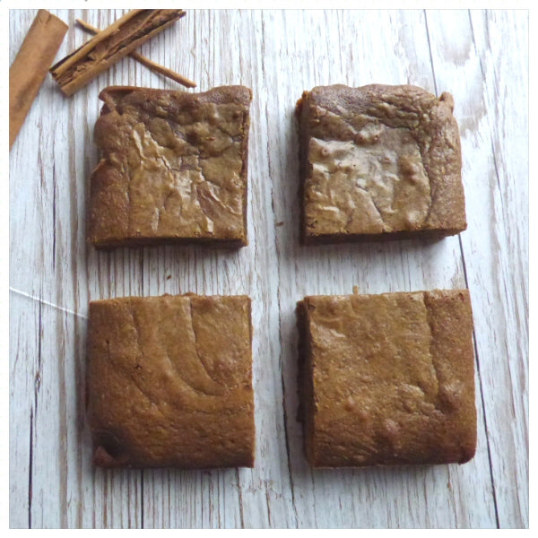 Cinnamon Blondies (Box of 4 or 9) - Clare's Squares - order Blondies online with free delivery to your door