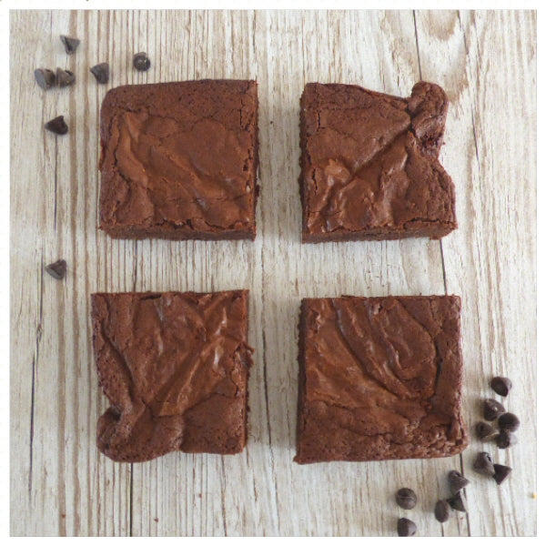 Chocolate Brownies (Box of 4 or 9) - Clare's Squares - order brownies online with free delivery to your door