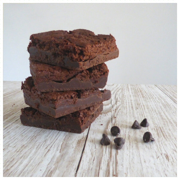 Chocolate Fudge Brownies (Box of 4 or 9) - Clare's Squares - order brownies online with free delivery to your door