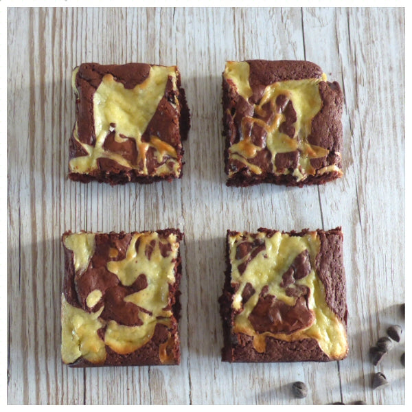 Red Velvet Cheesecake Brownies (Box of 4 or 9) - Clare's Squares - order brownies online with free delivery to your door