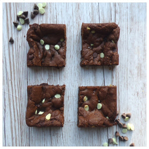 Mint Chocolate Chip Cookies (Box of 4 or 9) - Clare's Squares - order cookies online with free delivery to your door