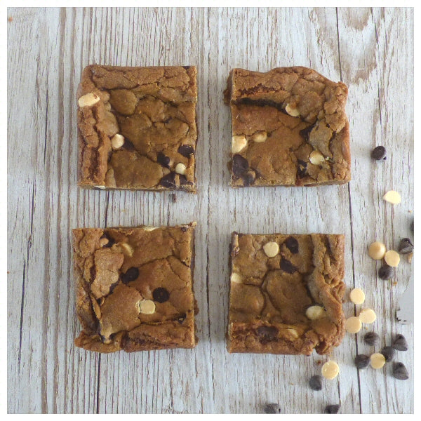 Chocolate and Orange Chip Cookie Squares (Box of 4 or 9) - Clare's Squares - order cookies online with free delivery to your door