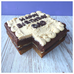 Choco Caramel Dream Traybake Cake - Clare's Squares - order  online with free delivery to your door