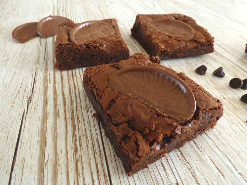 Chocolate Orange Brownies (Box of 4 or 9) - Clare's Squares - order brownies online with free delivery to your door