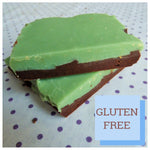 Mint and Chocolate Fudge (Box of 4 or 9) - Clare's Squares - order fudge online with free delivery to your door