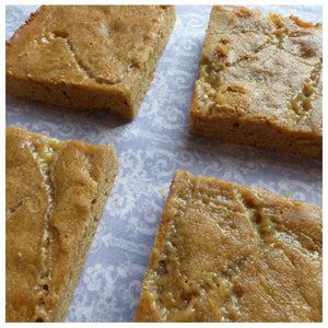 Caramel Blondies (Box of 4 or 9) - Clare's Squares - order blondies online with free delivery to your door