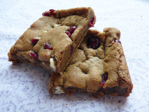 Cranberry and White Chocolate Chip Cookies (Box of 4 or 9) - Clare's Squares - order cookies online with free delivery to your door