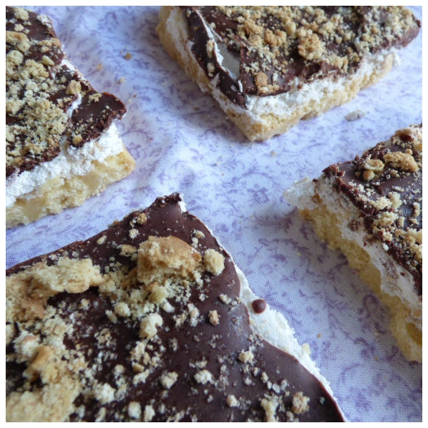 S'mores Squares (Box of 4 or 9) - Clare's Squares - order Traybakes online with free delivery to your door