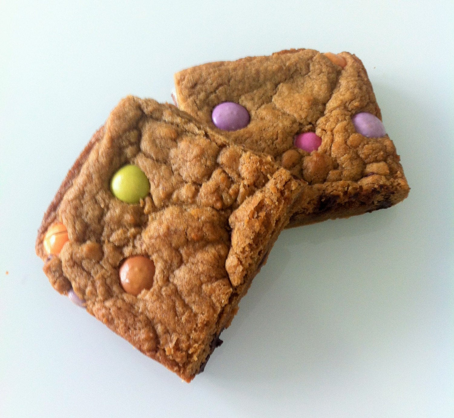 Smarties Cookie Squares (Box of 4 or 9) - Clare's Squares - order cookies online with free delivery to your door