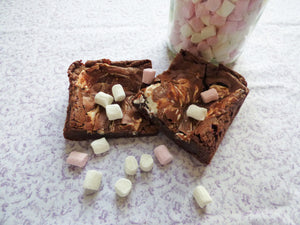 Marshmallow Brownies (Box of 4 or 9) - Clare's Squares - order brownies online with free delivery to your door