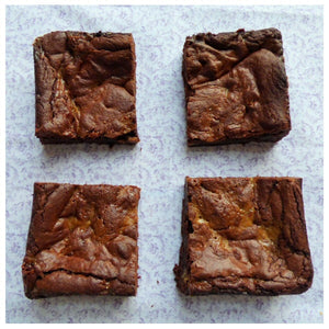 Caramel Brownies (Box of 4 or 9) - Clare's Squares - order brownies online with free delivery to your door