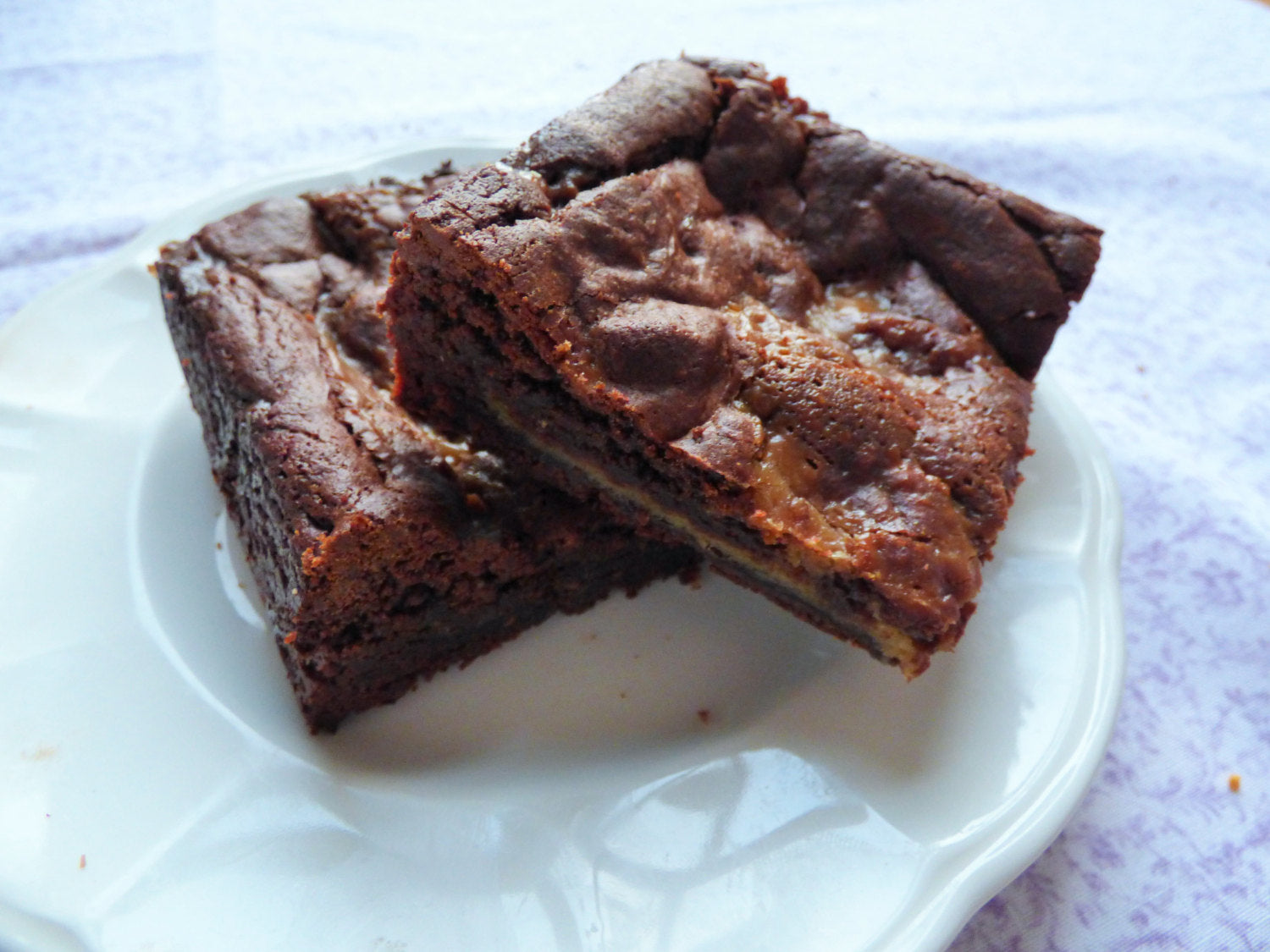 Caramel Brownies (Box of 4 or 9) - Clare's Squares