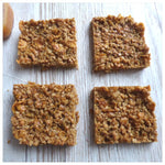 Caramel Crunch Flapjack (Box of 4 or 9) - Clare's Squares - order Traybakes online with free delivery to your door