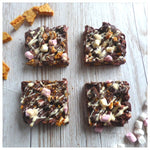 Honeycomb Rocky Road (Box of 4 or 9) - Clare's Squares - order Traybakes online with free delivery to your door