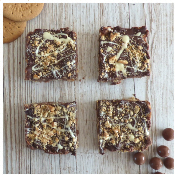 Malteser Mash (Box of 4 or 9) - Clare's Squares - order Traybakes online with free delivery to your door