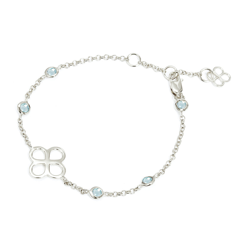 BENISON BRACELET WITH BLUE TOPAZ