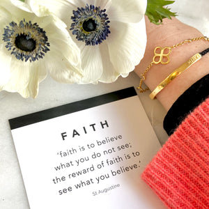 BE FAITH BRACELET