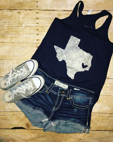 Texas - Deep in the heart of Texas - Texas tank top - Texas tank - Texas love - Texas girl - Texas born and raised - Texas state